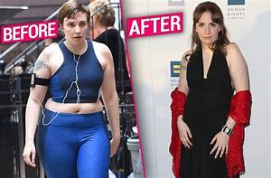 Lena Dunham Weight Loss Before After Pics