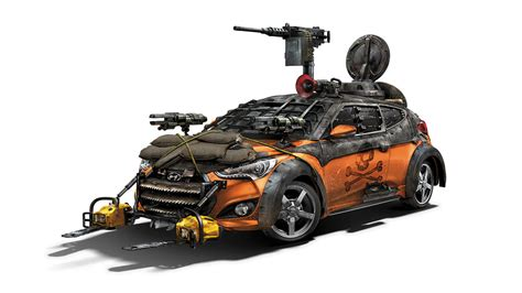 survival truck cer hyundai shows walking dead veloster zombie survival