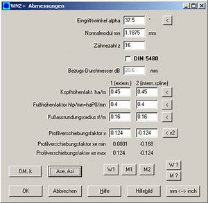 Bit Berechnen : wn2 zahnwellenverbindung ~ Themetempest.com Abrechnung