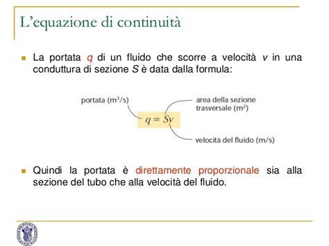 Formula Portata by 1 Meccanica Fluidi