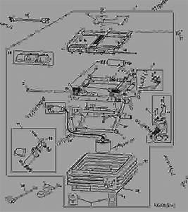 Air Seat Suspension - Tractor John Deere 8410