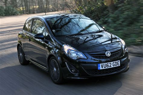vauxhall corsa black vauxhall corsa black edition review auto express