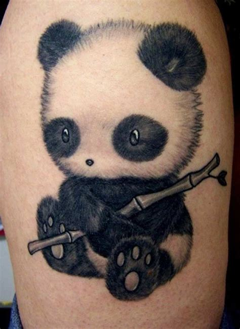 perfectly cute panda tattoos tattooblend