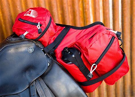 hoof boots australia stowaway saddle bag pommel deluxe attaches front  saddle