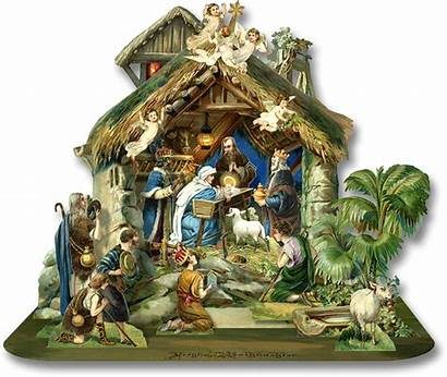 Nativity Pop Clipart Transparent Scene Background Lantern