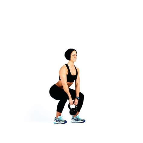 squat kettlebell upright row exercise workout skimble kettlebells muscle groups description
