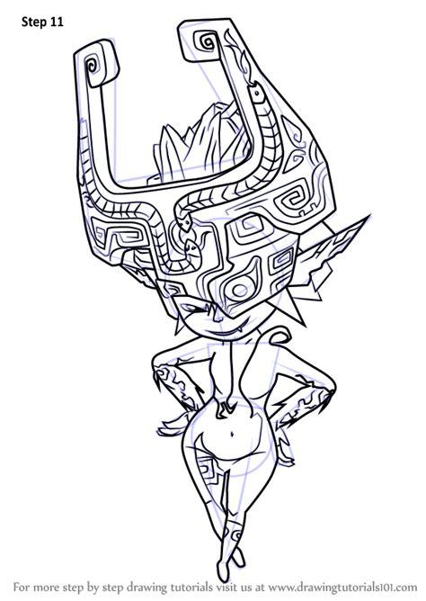 learn   draw midna   legend  zelda  legend  zelda step  step drawing