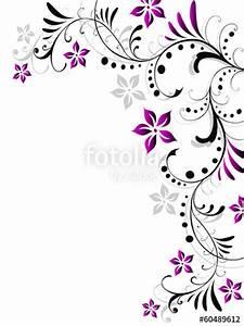 Umrandungen Vorlagen Kostenlos : floral blatt blume bl tter bl te rahmen pflanze vorlage vektor stockfotos und lizenzfreie ~ Orissabook.com Haus und Dekorationen
