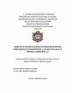 Portada Apa Calaméo Tesis Maestria Gerencia Logística Unefa Cumaná
