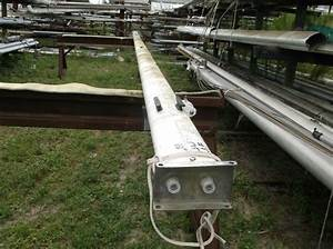 28 Feet 8 Inch Sailboat Mast Complete With Electrical