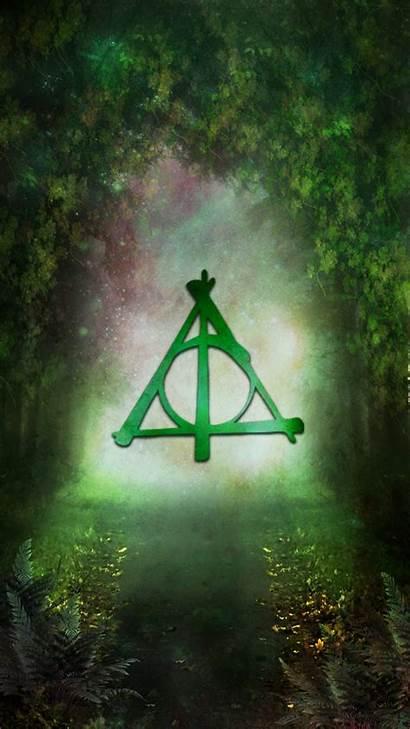 Potter Harry Hallows Deathly Symbol Wallpapers Fondos
