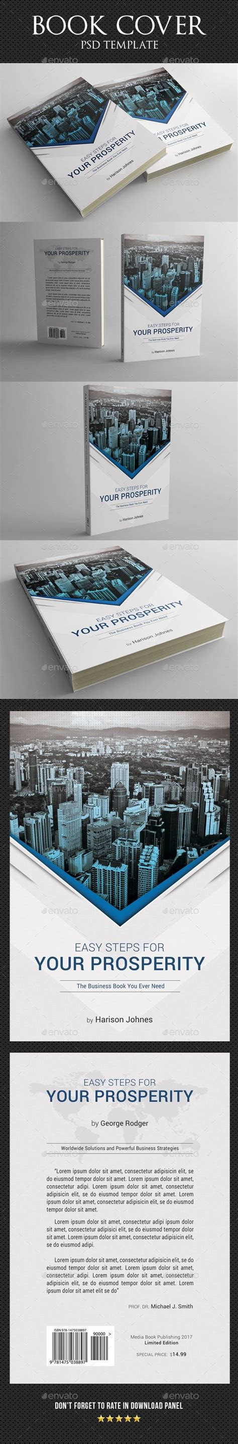 book cover template  ad cover spon book template