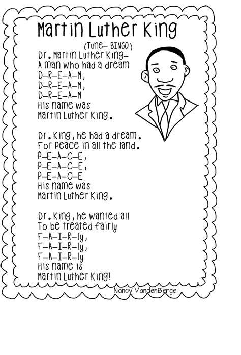 Martin Luther King Math Worksheets  Martin Luther King Jr Enchantedlearning Day Free Worksheet