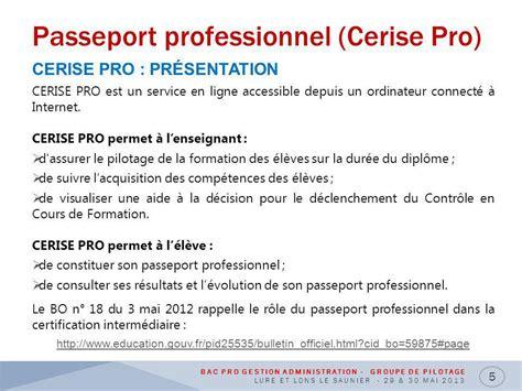 fiche cerise pro modele bac pro gestion administration ppt t 233 l 233 charger