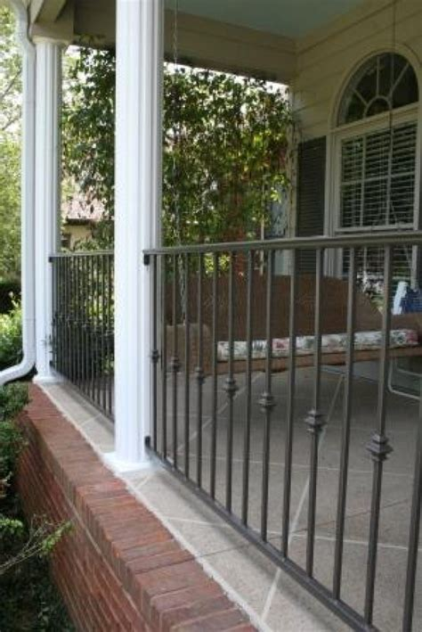 porch railing basic but not in black this is the color i