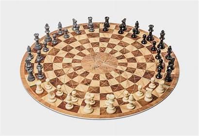 Chess Sets Cool Ass Bad Circular Player