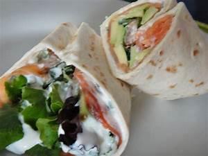 Recette Avec Tortillas Wraps : wraps saumon avocat coriandre la cuisine de nelly ~ Melissatoandfro.com Idées de Décoration