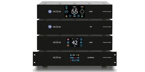acurus ch muse processor  ch amplifier targets