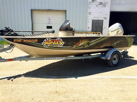 Walleye Fishing Boat Wraps by Fishing In The North Wrap It Timminstoday