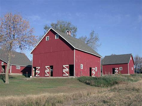 Across Iowa, Barns In Infinite Variety To Welcome The