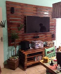 Meuble Tv Accroché Au Mur : meuble tv accroch au mur awesome with meuble tv accroch au mur meuble tv suspendu avec ~ Preciouscoupons.com Idées de Décoration