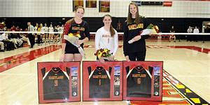 Harper Breaks Digs Record; Maryland Cruises - Maryland ...