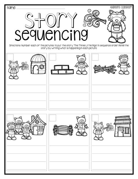 Story Sequencing Christmas Activities  Festival Collections