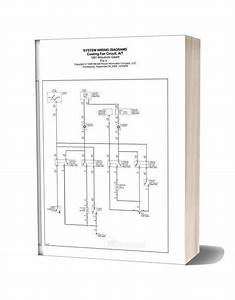 System Wiring Diagrams Mitsubishi Galant 1991