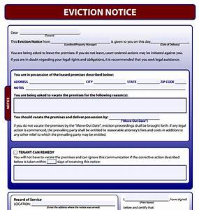 free eviction notice letter print search results With free eviction documents