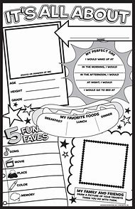 Best All About Me Worksheet Ideas And Images On Bing Find What