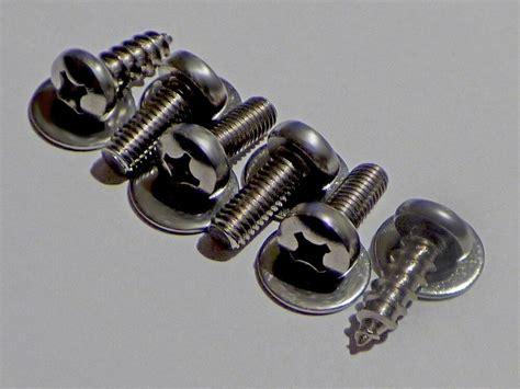 License Plate Screws by 4 Metric License Plate Stainless Bolts For Imports 2