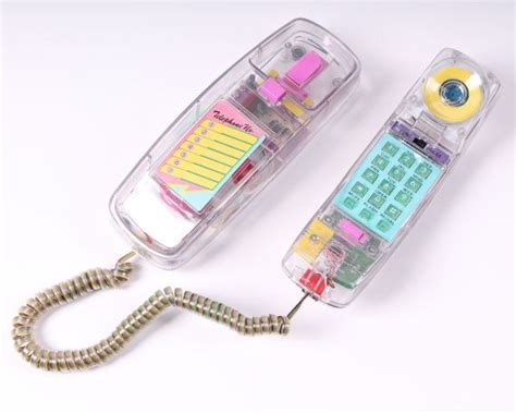 how to clear from phone vintage neon clear telephone touch tone see through