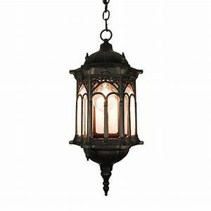 Tp, Outdoor, Ceiling, Light, Lighting, Black, Finished, Hanging, Light, Lamp, Tp0007m