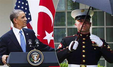 president obama   marine break  rules