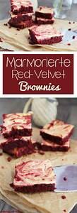 Brownies Rezept Amerikanisch : marmorierte red velvet brownies rezept vernetzteuch food valentinstag backen ~ Watch28wear.com Haus und Dekorationen