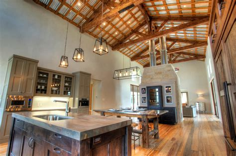urban farm house farmhouse kitchen austin