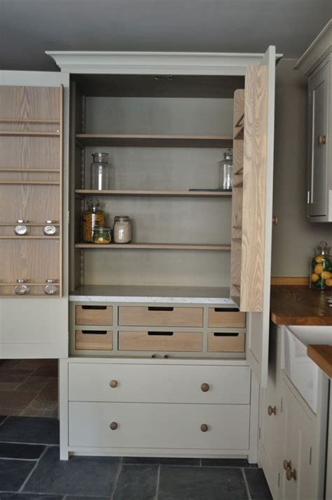 Freestanding Pantry Cupboard by Custom Kitchen Pantry Millwork W Drawers On Lower Portion