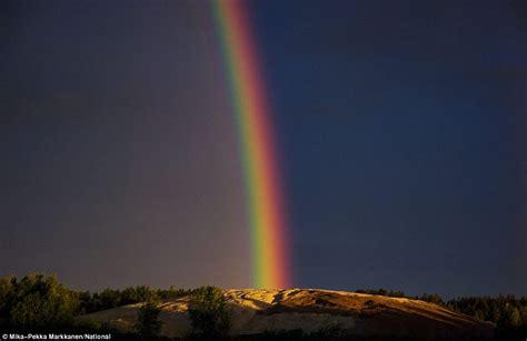 Arctic Circle Rainbow Pot Gold Captured