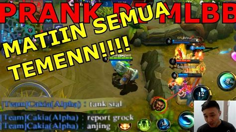 Prank Pake Grock Di Mobile Legend!!!!! Mobile Legend