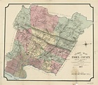 Guide map of Essex County, New Jersey | Library of Congress