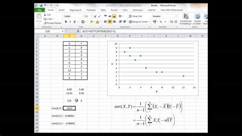 bfip calculating sample covariance  correlation