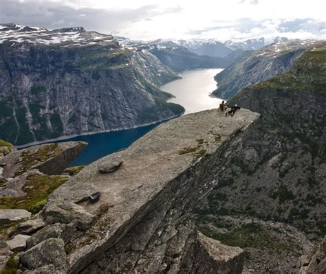 Trolltunga Norways Terrifyingly Beautiful Cliff Edge