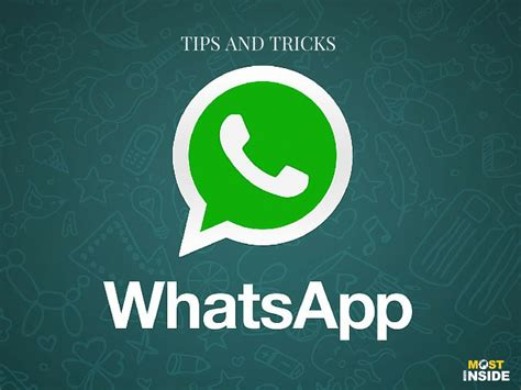 do you these tips and tricks of whatsapp in 2015