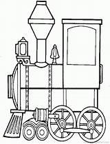 Coloring Train Blank Animal Circus Popular sketch template
