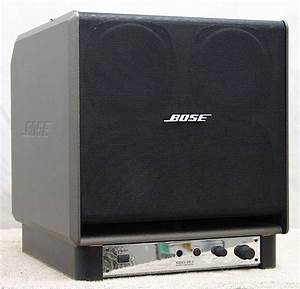 Bose SW-4 Powered Subwoofer - Image 15 - What's Inside