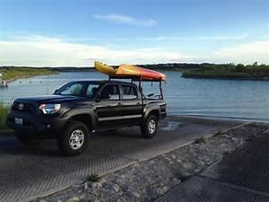 2018 Toyota Tacoma Kayak Rack