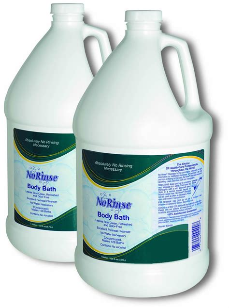 No Soap Shower - no rinse bath soap with odor eliminator 900 910 950