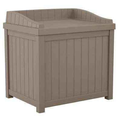 beige deck boxes sheds garages outdoor storage the home depot