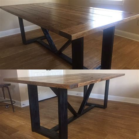 modern farmhouse dining table shanty  chic