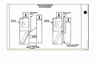 Is There An Air Filter On The Trane Air Handler